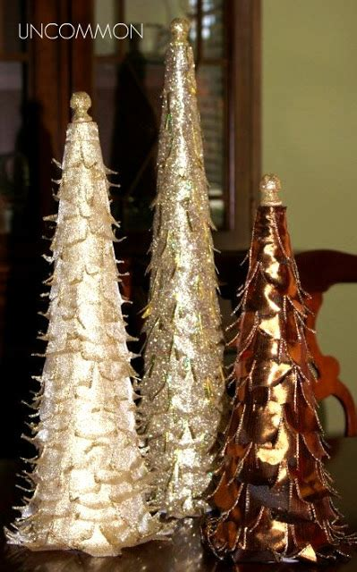 tabletop ribbon trees a holiday tutorial uncommon