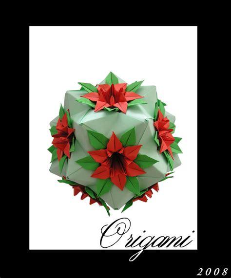 Origami Flower Pot - origami flowerpot