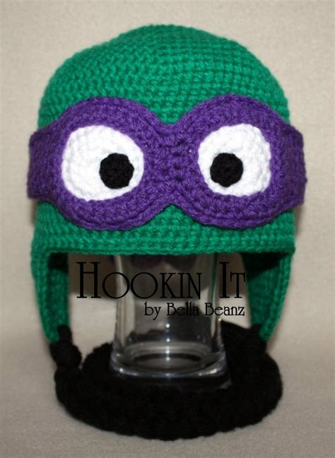 pattern ninja hood 1000 images about crochet hats tmnt on pinterest
