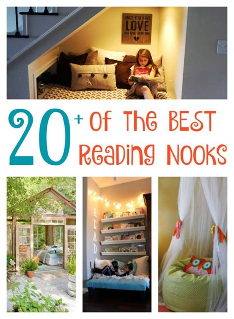 diy reading nook ideas kitchen fun    sons