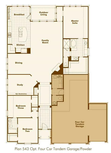 tandem garage plans ranch house plans with tandem garage