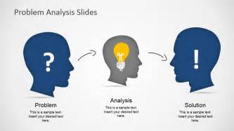 It Solution Template by Problem Analysis Solution Slides For Powerpoint Slidemodel