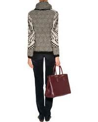 Other Designers Anya Hindmarch Neeson Handbag Alba by Anya Hindmarch Leather Soft Ebury Tote In Burgundy Where