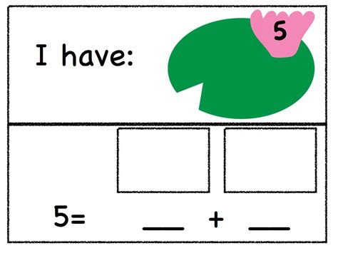 Decomposing Numbers Kindergarten Worksheets by Mrs Scotese S Class A Kindergarten Decomposing