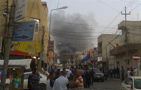 consolato iraq iraq autobomba a erbil contro il consolato americano