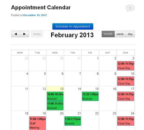 make appointment in calendar 10 best appointment scheduling plugins 2018