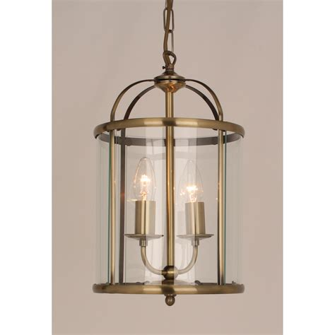 Brass Ceiling Lantern by Impex Lighting Orly 2 Light Ceiling Lantern In Antique Brass Finish Lighting Type From
