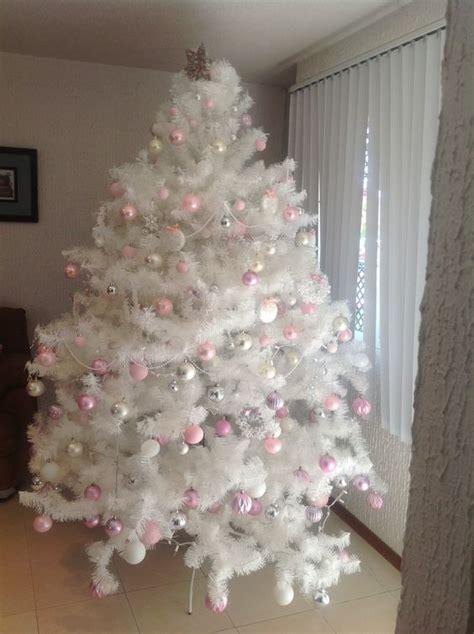 arbol navide 241 o en tonos rosas blanco y plata lupita