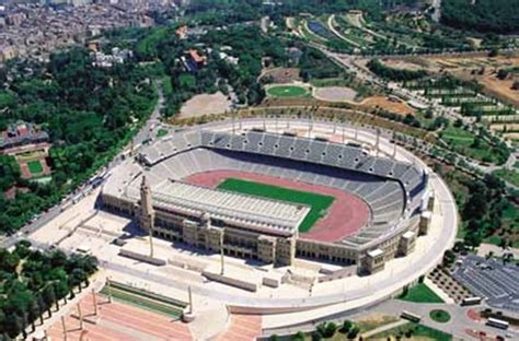 barcelona olympic stadium 17 best images about olympic games 1992 barcelona on