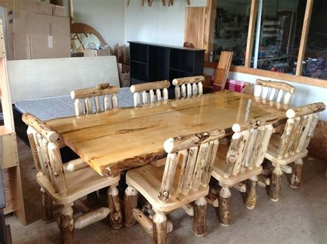 Handmade Designer Furniture - handmade log furniture by the amish hook up custommade