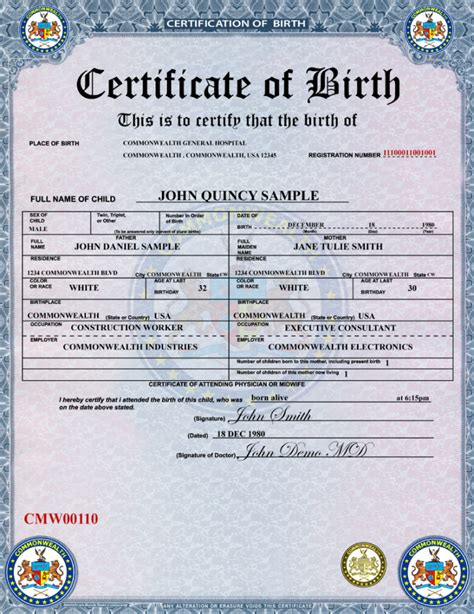 full birth certificate how much eurosign inc learn more about the birth certificate module