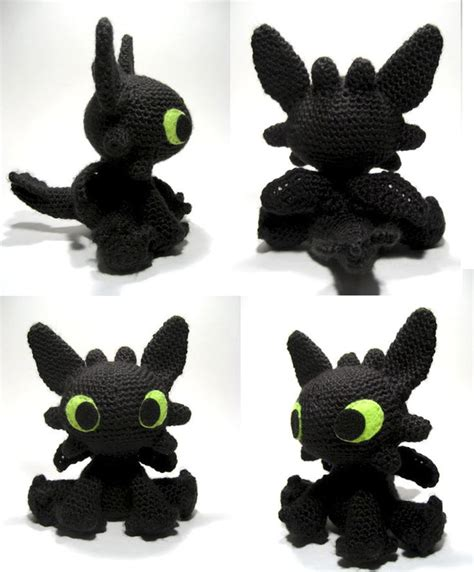 crochet toothless ideas  pinterest toothless