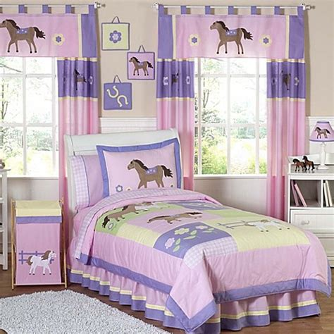 Pony Bedding Set Sweet Jojo Designs Pretty Pony Bedding Collection Bed Bath Beyond