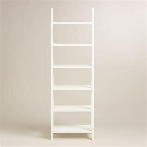white lacquer josephine bookcase world market