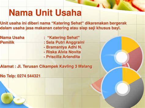 katering sehat baby powerpoint  id