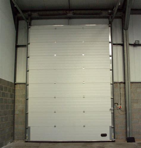 industrial sectional overhead roller doors karis uk