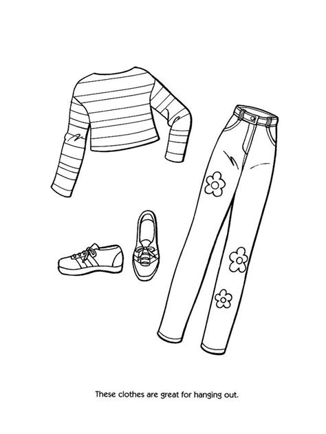 clothes coloring pages free printable printable coloring pages of fashion clothing coloring home