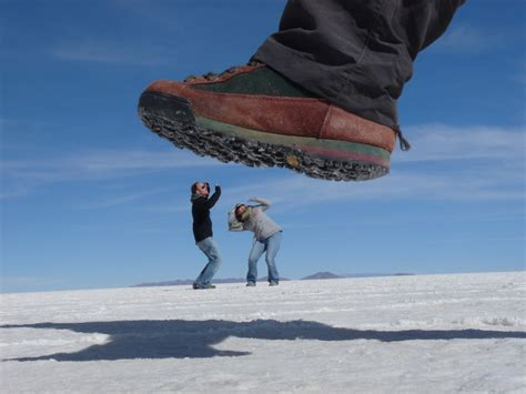 This Was Not Trick Photography by Monty Python Perspective In Salar De Uyuni In