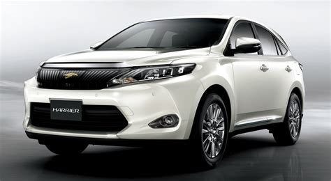 Toyota Harrier 2013 2014 Toyota Harrier Details Revealed 2 0 Or 2 5 Hybrid