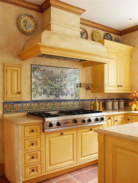 Hand Painted Tiles For Kitchen Backsplash by Kitchen Backsplash Photos Stove The Row And Kitchen Colors