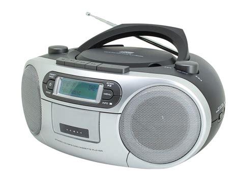 cassette cd player soundmaster scd7900 portable cd player boombox fm dab