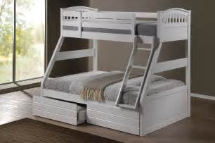 L Shaped Twin Beds Ashley White Duo Double Single Bunk Beds With Drawers