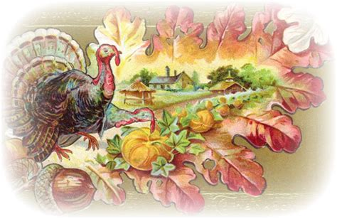 Thanksgiving Free Clip Vintage by Vintage Thanksgiving Clipart Clipart Suggest