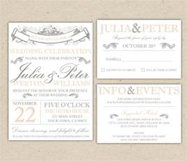 Microsoft Wedding Invitation Templates Free by Wedding Invitation Free Templates