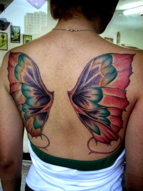 tattoo butterfly wings back girl tattoos and designs page 365