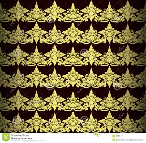how many gold pattern are included with daas golden thai arts interior stock illustration image 64205471