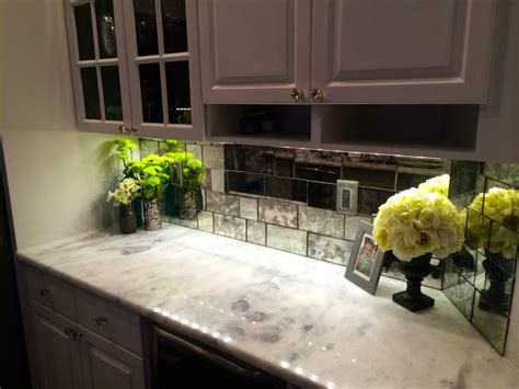 mirror tile backsplash kitchen mirror or glass backsplash the glass shoppe a division