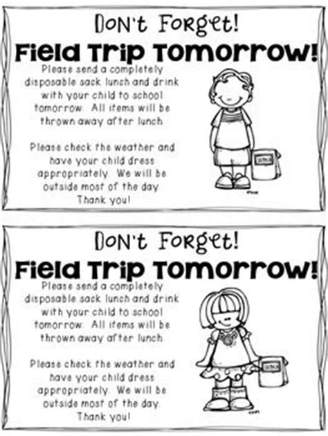 field trip announcement template primary school trip letter to parents sles trips home