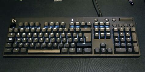 logitech  orion brown uk iso layout  caversham