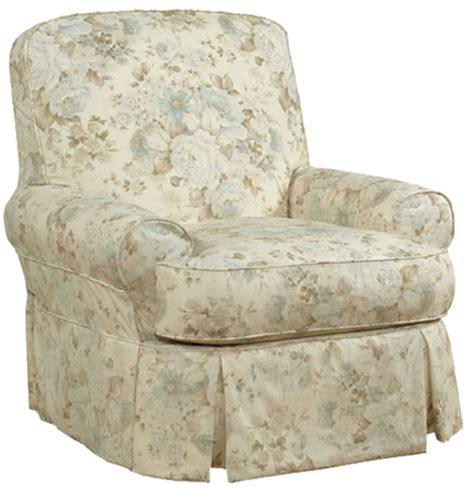 slipcovered glider chair ava slipcovered swivel glider chair rosenberryrooms com