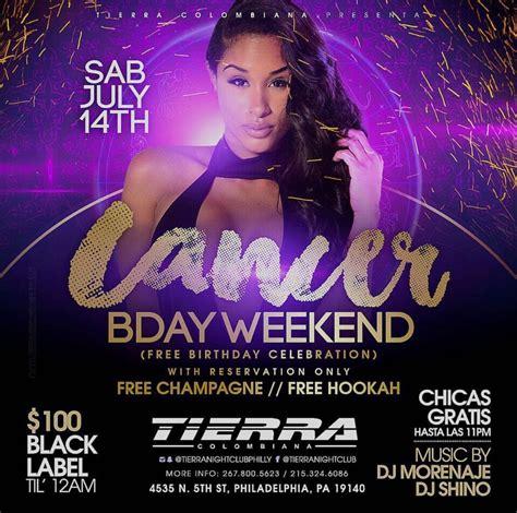 brytiago birthday latin saturdays cancer bday weekend tierra nightclub