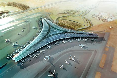 designboom airport foster partners kuwait international airport