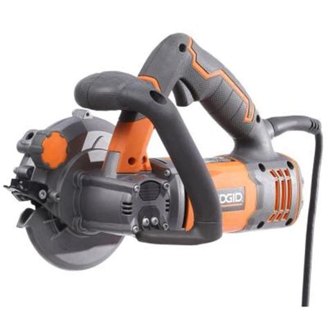 ridgid 5 in 2 blade circular saw r3250 the home depot