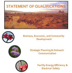 statement of qualifications swbdc