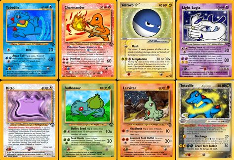 how to make cards that look real cards ys set 1 by yoshistar baxter on