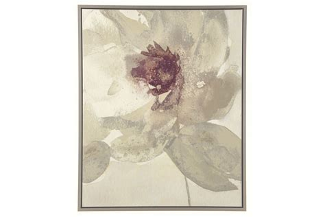 Odam Wall Art in Taupe, Gray, Purple and White by Ashley