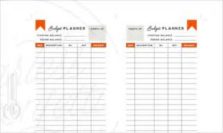 Daily Budget Template by 5 Daily Budget Planner Templates Free Sle Exle