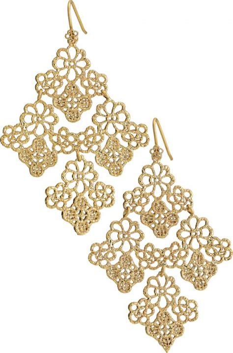 stella and dot chandelier earrings stella dot