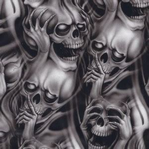 multiple skull tattoo designs top 9 scary designs for styles at