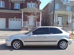 1999 honda civic ek hatchback silver civic forumz