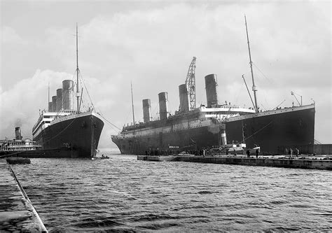 Did Olympic Sink by Did The Titanic Really Sink The Olympic Switch Theory