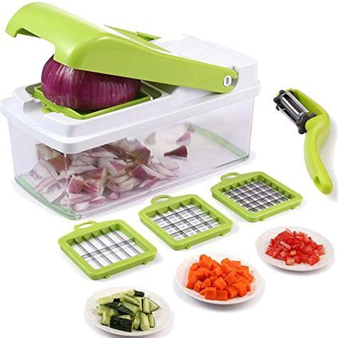 Food Cutter Set Parts vegetable chopper mandoline vegetable fruit dicer effortless no mess salad vegetable cutter