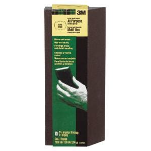 home depot pro extra 3m pro pad 2 87 in x 8 in x 1 in fine and medum grit extra large single angle sanding sponge
