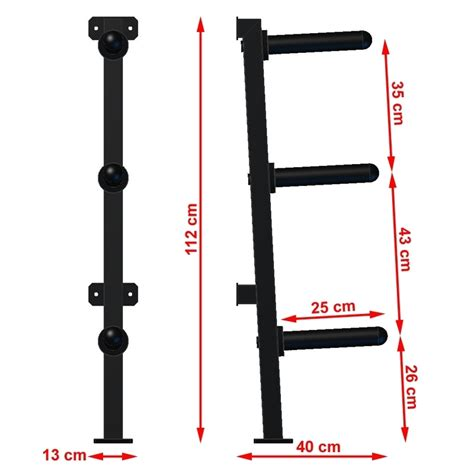 wall mounted olympic weight rack kg load rating bb