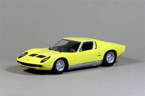 1966 Lamborghini Miura Minichs Lamborghini Miura 1966 In 1 43 Scale Mdiecast