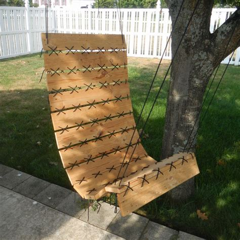 turn troline into swing how to turn a pallet into a hanging chair andrea s notebook